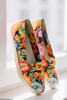 Floral Print Shoes From Geox Via Paulien