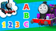 ABC, Colors and Counting Learning with Ryan and Thomas and Friends