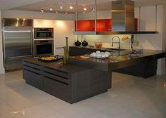 Contemporary Kitchen Using Italian Designs Http Lanewstalk How