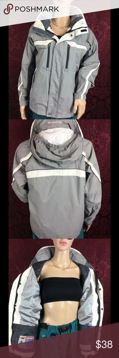 COLUMBIA Bugaboo winter/ski/rain jacket hooded M Clean . Gentle use . Sturdy . HIGH quality . View HD pics for details/measurements . No liner . Youth 14/16 = women's Medium Columbia Jackets & Coats