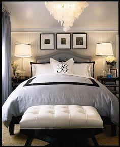 94058cf80d3 I love this bedroom. Hollywood Regency Bedroom