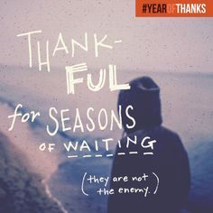 Join the conversation. Hop on FB, Twitter & Instagram and share what you're thankful for using #YEAROFTHANKS