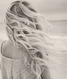 DIY Beach Waves Hair Spray! Mix together in a spray bottle: 2 cups warm water 1 tablespoon sea salt 1 tablespoon coconut oil Spray on wet hair, and your off!