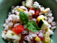 Recipe: Summer Barley Salad