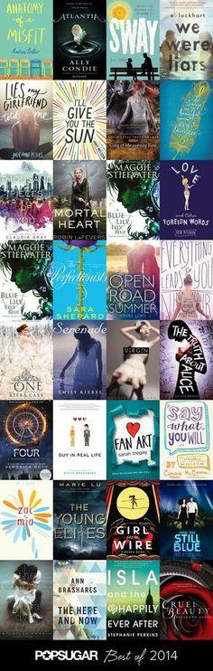 The Best YA Books of 2014