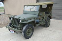 Amazing 1942 WWII Jeep Restoration I Found On EBay. Wish I Had $15,000.