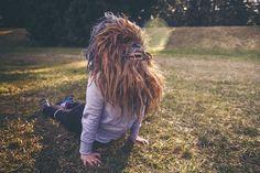 Los Wokies nunca antes vistos. Por el fotógrafo Neon Werewolf. #fotografia #wookies #starwars #geek #freak