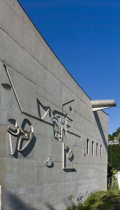 Maison de la Culture. Firminy, France.1956. Le Corbusier