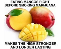 Good To Know. Better To Know Why. Is this brought to you by the Mango Growers off America? Leave comment if you have any info on this.