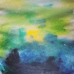 Océano Verde - Acuarelas