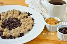 Café Latte Gelatin Gummy Bears (Paleo and gluten free) December 4, 2013 by Caitlin Weeks