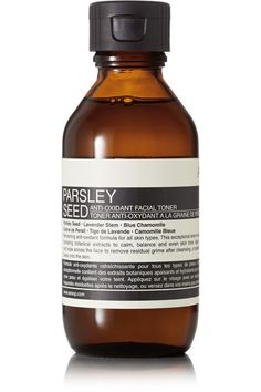Instructions for use: After cleansing, use a cotton pad or your hands to pat a small amount onto skin Follow with [Parsley Seed Anti-Oxidant Hydrator id462425] 100ml/ 3.4fl.oz. Ingredients: Aloe Barbadensis Leaf Juice, Water (Aqua), Polysorbate 80, Sodium Lactate, Hamamelis Virginiana (Witch Hazel) Water, Phenoxyethanol, Lavandula Angustifolia (Lavender) Oil, Sorbitol, Panthenol, Disodium EDTA, Ethylhexylglycerin, Ormenis Multicaulis Oil, Camellia Sinensis Leaf Extract, Benzalkonium Chlo...