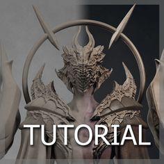 Necros Tutorial, Pavee Keawmafai on ArtStation at https://www.artstation.com/artwork/necros-tutorial