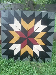"A long-time friend of mine, Jerrie, from my home town is a very gifted ""barn quilter."" Today, I'd like to show you some of her designs. She ..."