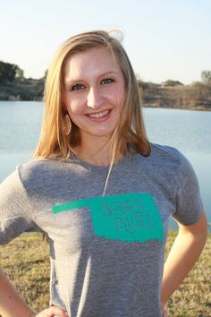 OKLAHOMA Born & Raised T-Shirt, via Etsy. There is a baseball shirt that is so cute i think i may have to buy it!!