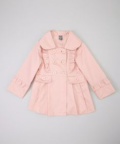 Love this Pink Ruffle Swing Coat - Toddler & Girls on #zulily! #zulilyfinds