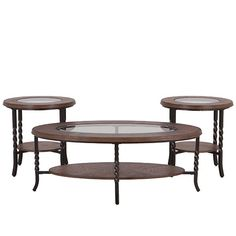 Infinity 3 Pack Tables, Mealeys Furniture