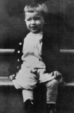 Jimmy Stewart at 4 years old in 1912.