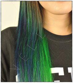 Manic Panic Hair Dye After School, Manic Panic Hair Dye, Vellus Hair, Beauty Skin, Hair Beauty, Ash Balayage, Blue Green Hair, Hair Color For Fair Skin, Brown Curls