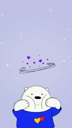 Iphone Wallpaper Cat, Iphone Wallpaper Themes, Cartoon Wallpaper Iphone, Galaxy Wallpaper, Cute Tumblr Wallpaper, Cute Panda Wallpaper, Sad Wallpaper, Cute Disney Wallpaper, We Bare Bears Wallpapers