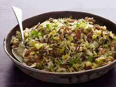 Wild Rice and Basmati Pilaf with Sausage Recipe : Food Network Kitchens : Food Network - FoodNetwork.com