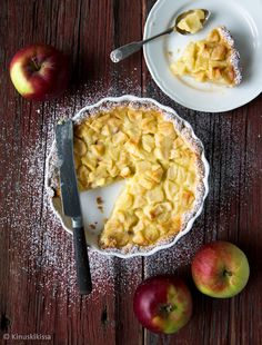 Wanhan ajan omenapiirakka