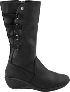 Buy the Arcopedico R66 boot at PlanetShoes.com. Arcopedico shoes exercises the foot, strengthen the muscles, assist the circulation of the blood and ensure more comfort in walking at PlanetShoes.com, your trusted source for feel-good footwear, with free shipping & returns! (Black Embossed)