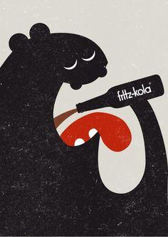 Fritz-Kola #poster #design