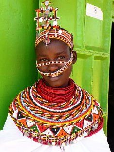 Samburu lady - Travel with www.thesafaricoltd.com to see for yourself