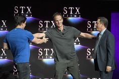 """Mark Wahlberg Photos - (L-R) Actor Mark Wahlberg, director Peter Berg and Chairman of STXfilms Adam Fogelson speak onstage during CinemaCon 2018 STXfilms Invites You to an Evening Featuring A Sneak Preview of Their Feature Films"""" at The Colosseum at Caesars Palace during CinemaCon, the official convention of the National Association of Theatre Owners, on April 24, 2018 in Las Vegas, Nevada. - CinemaCon 2018 - CinemaCon 2018 STXfilms Invites You To A Sneak Preview of their Future Films"""