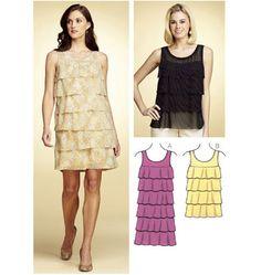 K3755 Misses Dress & Top