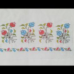 elisi #nakis #flowers, good design, stitchery and colours.