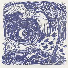 Mostly, but not limited to, nature-themed art and illustration. Header image by Jahna Vashti. Art And Illustration, Botanical Illustration, Linocut Prints, Art Prints, Block Prints, Bild Tattoos, Linoprint, Owl Art, Wood Engraving