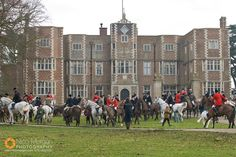 quenby hall leicestershire england | quenby hall the quorn hunt meet at quenby hall quenby leicestershire ...