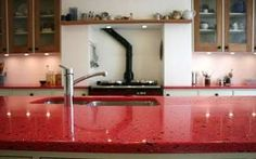 Green property: A recycled kitchen worktop