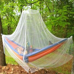 Camping accessories :Mosquito and Bug Net Outdoor Camping Zipper Design | Round Dome Canopy | Spider Insect Malaria Zika Repellant | Money-Back Guarantee | Free Travel Carry Pouch and Hanging Kit ** Unbelievable product right here!