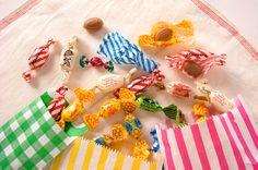 077「キャンディ」-外国のあめって 包みがポップでかわいいもんだから、...