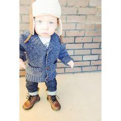 Little man style via Heather Scot Nelson @Heather Nelson