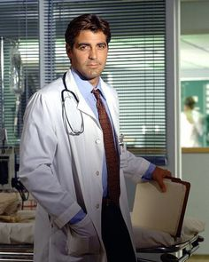 George Clooney on ER, this is when my love affair began. Every Thursday night with my 3 favorite men... George, Ben and Jerry