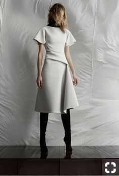 Minimalista Waist Skirt, High Waisted Skirt, Normcore, High Waist Skirt