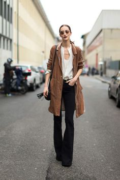 119 of the best street style outfits spotted at Milan Fashion Week: