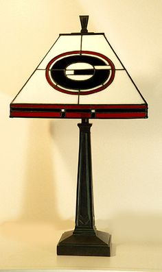 Georgia Bulldogs GA501 Table Lamp