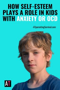 OCD and anxiety can greatly affect self esteem. Here is how self-esteem plays a role in children with anxiety or OCD and how you can help them when they experience social anxiety, perfectionism or moral OCD. Ocd In Children, Anxiety In Children, Adhd Kids, Social Anxiety, Stress And Anxiety, How To Calm Anxiety, Anxiety Relief, Self Esteem