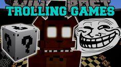 [Popularmmos - Minecraft ] FIVE NIGHTS AT FREDDY'S 2 TROLLING GAMES - Lu...
