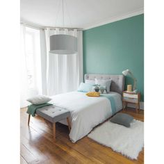 Turquoise Room Ideas - Well, how regarding a touch of turquoise in your room? Set your heart to see it due to the fact that this post will certainly give you turquoise room ideas. Table of Contents. Bedroom Decor, Small Room Bedroom, Bedroom Interior, Home, Bedroom Inspirations, Home Deco, Home Bedroom, Modern Bedroom, Home Decor