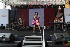 Loverin Tamburin on stage #ennichisai2016 #ennichisai #ennichisaiblokm #littletokyo #blokm #music #concert #perform #matsuri #festival