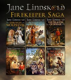 Updated text on covers. Dragon Wolf, Cover Design, Saga, Books, Painting, Libros, Book, Painting Art, Paintings