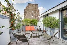 Réalisé par l'agence d'architecture Atelier Sagitta Extension - Terrasse Retrouvez la fiche sur Archidvisor