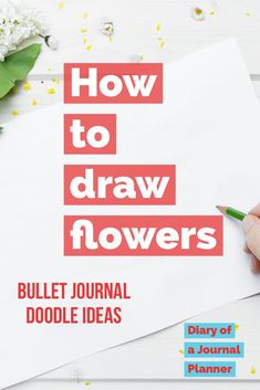 Rose Drawing How to draw flowers - Find a hige list of flower doodle tutorials and step-by-step flower drawing ideas. From rose drawing to simple flower doodles for bullet journals. Doodle Sketch, Doodle Drawings, 3d Drawings, Doodle Art, Realistic Drawings, Kawaii Drawings, Flower Drawing Tutorials, Drawing Ideas, Drawing Tips
