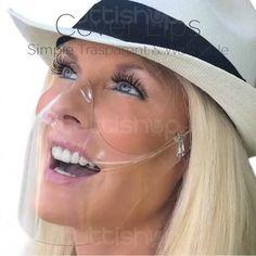 Cover Lips la visière transaprente, couvre la bouche et le nez Cover, Baseball Hats, Baseball Caps, Caps Hats, Blanket, Ball Caps